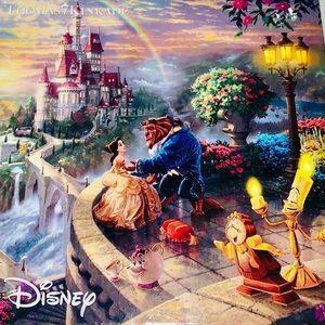 Disney 🌹Beauty & the Beast Puzzle Thomas Kinkade